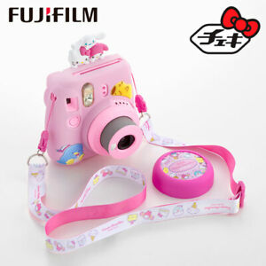 "Sanrio Characters Fujifilm Instant Camera ""Cheki instax mini"" Special kit"