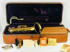 Selmer Super Balanced Action SBA Tenor Saxophone w/case + mouthpiece + papers!