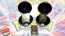 1999 Pokemon Charizard Mewtwo Pikachu 23k Gold plated Cards BURGER KING CHOOSE