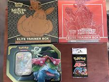 Pokemon Mystery Box Packs, WOTC Cards Shining Fates ETB🔥🔥 Team Rocket Pack! 🚀