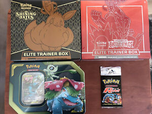 Pokemon Mystery Box Packs, WOTC Cards Shining Fates ETB🔥🔥 Team Rocket Pack! 🚀