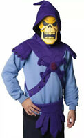 NWT Skeletor Masters Of The Universe He-Man costume Hoodie Men's sz S 80s Tees