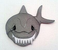 BABY SHARK TEETH ANIMAL OCEAN LIFE PREMADE PAPER PIECING 3D DIE CUT MYTB KIRA