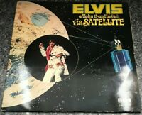 Elvis Presley Aloha From Hawaii Via Satellite 2LP RCA Victor VPSX6089 EX/EX 1973