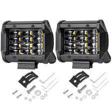 72W LED Arbeitsscheinwerfer Offroad Traktor Bagger Auto 12V Flutlicht Strahler A