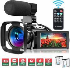 Video Camera Camcorder Wifi Ir Night Vision Fhd 1080P 30Fps 26Mp Youtube Vloggin