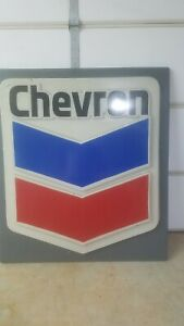 Chevron Gas Sign