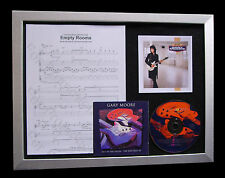 GARY MOORE Empty Rooms TOP QUALITY MUSIC CD FRAMED DISPLAY+EXPRESS GLOBAL SHIP