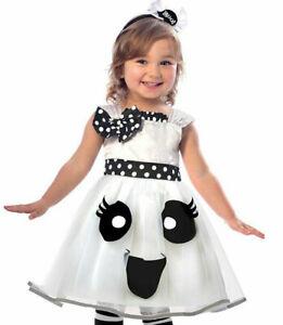 ★ Halloween Cutie Geister Ghost,Kleid Kostüm Girl Ghost 86-98