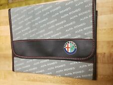 Alfa Romeo folder,case for papers,manuals