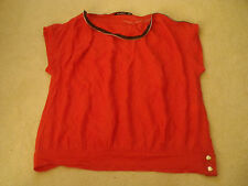 Womens Atmosphere Zip top top T Shirt top Size 12 Nice clean condirtion