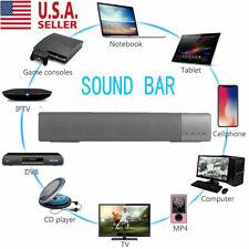 Sound Bar TV Soundbar Wired & Wireless Bluetooth Home Theater TV Speaker USA