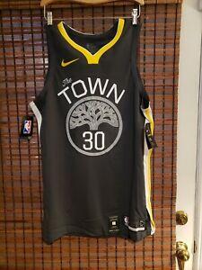 Nike Warriors Steph Curry The Town Statement NBA Vaporweave 48 L AV2645-060