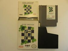 PIPE DREAM - IN BOX WITH MANUAL AND SLEEVE - NINTENDO NES - TESTED WORKS!!!!!!!!