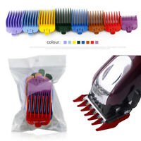 8Pcs/Set Hair Clipper Limit Comb Guide Size Cutting Replacement Tool Accessories