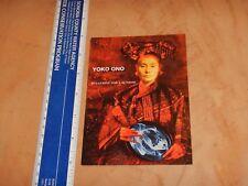 Original Yoko Ono Blueprint For Sunrise Album Promo Postcard