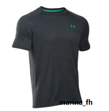 NWT UNDER ARMOUR MEN'S UA TECH TRAINING SHORT SLEEVE EMBOSSED T-SHIRT SIZE SM