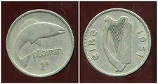 IRLANDE  1 florin 1951