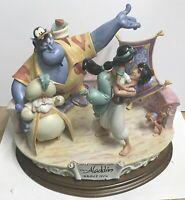 "Disney Aladdin ""Group Hug"" Capodimonte Laurenz COA NIB LE 96/250"