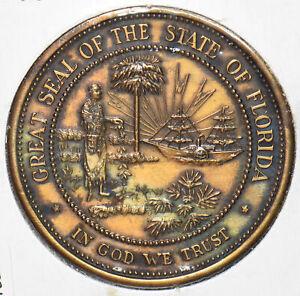 1962 Florida Token Capitol Medal Florida State Capitol TALLAHASSEE 191925 combi