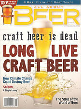 ALL ABOUT BEER March 2015 Long Live Craft Beer 100+ Top Reviews Best Pizza Towns