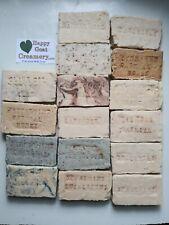 10 Bars Handmade Goat Milk Soap Happy Goat Creamery Free Shipping Top Cheap Gift