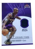 2002-03 Fleer Premium - Prime Time Game Used #10 Stephon Marbury Shirt Suns