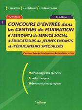 Concours d'entrée dans les centres de formation d'assistants de service social