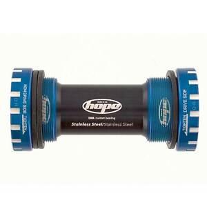 Hope Technology External Bike Bottom Bracket Cups 68/73mm Shell Width - Blue