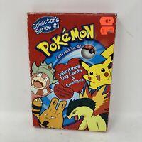 Vintage Pokemon Valentine's Day Cards for School Vtg Pikachu 1998 34 Cards