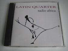 CD  Latin Quarter   Radio Africa    No ordinary Return   Sehr guter Zustand !!