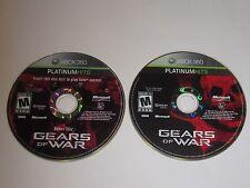 Gears of War w/ Bonus Disc (Xbox 360, 2006) Discs Only