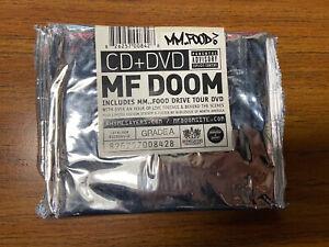 MF DOOM MM.. FOOD CD DVD Sealed RSE0084-2 Rhymesayers 2007 Hip-Hop Rap Legend
