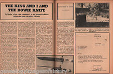 Jim Bowie The Knife The King Of Iraq Sought To Buy+Brigadier Jamil,King Faisal,