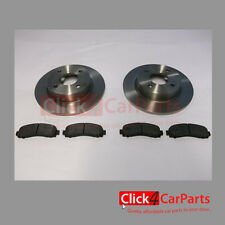Nissan Micra K11 1.0 1.3 1.4 1993-2002 Front Solid Brake Discs and Pads