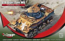 M5 light tank-Operazione Torch (U.S. MKGS/Stuart/miele) 1/72 Mirage