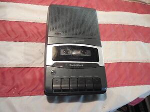 Vintage Radio Shack Portable Cassette Tape Recorder Player CTR-111