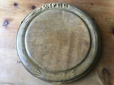 "ANTIQUE VICTORIAN KITCHENALIA ELM BREAD BOARD ""BREAD"""