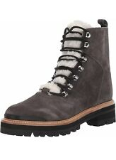 New Marc Fisher Izzie Boots Women's Size 9.5 Gray Leather
