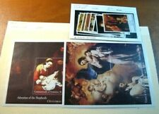 Foreign Souvenir Sheets Dominica Scott# 1748-1757 Paintings MNH 1994 H98