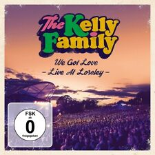 KELLY FAMILY THE - We Got Love - Live At Loreley -, 2 Audio-CDs