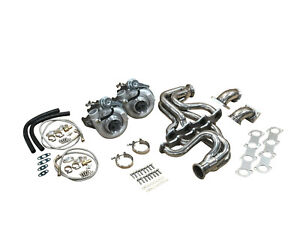 FOR FORD Mustang 4.6L 2 VALVE 1000HP Twin Turbo Kit 4.6 2v HOT PARTS GT