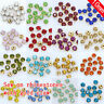 36p ss45 10mm crystal Sew On glass cup Rhinestone jewelry making beads gold claw