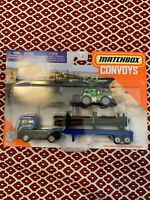 2020 Matchbox Convoys Ford Cargo & Logger Bed With Dirt Smasher HTF