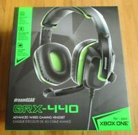 DreamGear GRX-440 Advanced Wired Headset Xbox One New Factory Sealed