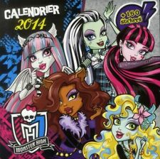 CALENDRIER 2014 PANINI MONSTER HIGH
