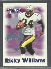 2000-2001 Starting Lineup Football Card - Ricky Williams - New Orleans Saints