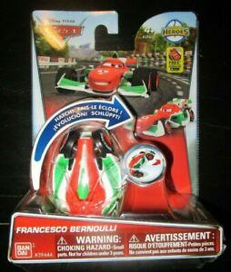 DISNEY PIXAR CARS HATCH N HEROES FRANCESCO BERNOULLI FIGURE