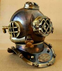 Antique Diving Helmet U.S Navy Mark V Scuba Deep SCA Antique Divers Helmet