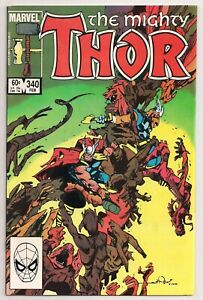 THE MIGHTY THOR # 340  MARVEL COMICS 1983 HIGHER GRADE BOOK!! NM!  CLEAN& WHITE